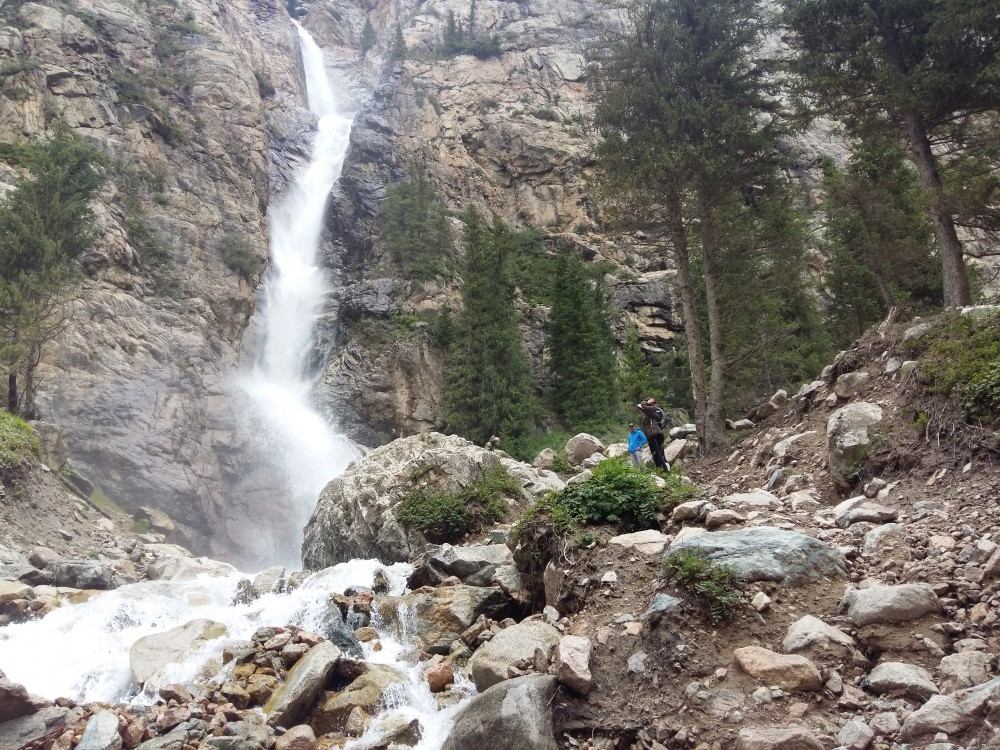 Burkhan Bulak Waterfall